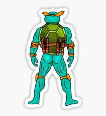 Turtle Butt 4 Sticker