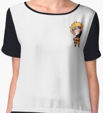 Mini Naruto Women's Chiffon Top