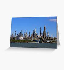 Factory Sarnia Canada Greeting Card