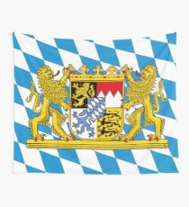 Bavarian Flag  Wall Tapestry