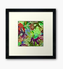 Deciduous Delight Number Three Framed Print