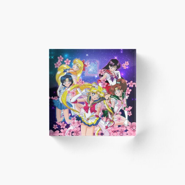 Super Inner Senshi Acrylic Block