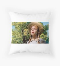 Anne in green gables Throw Pillow