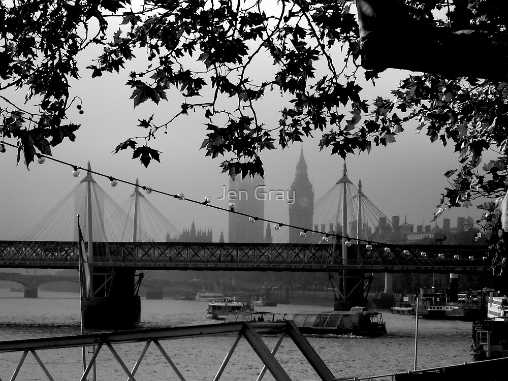 Foggy Day by Jen Gray
