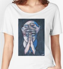 praying figure Women's Relaxed Fit T-Shirt