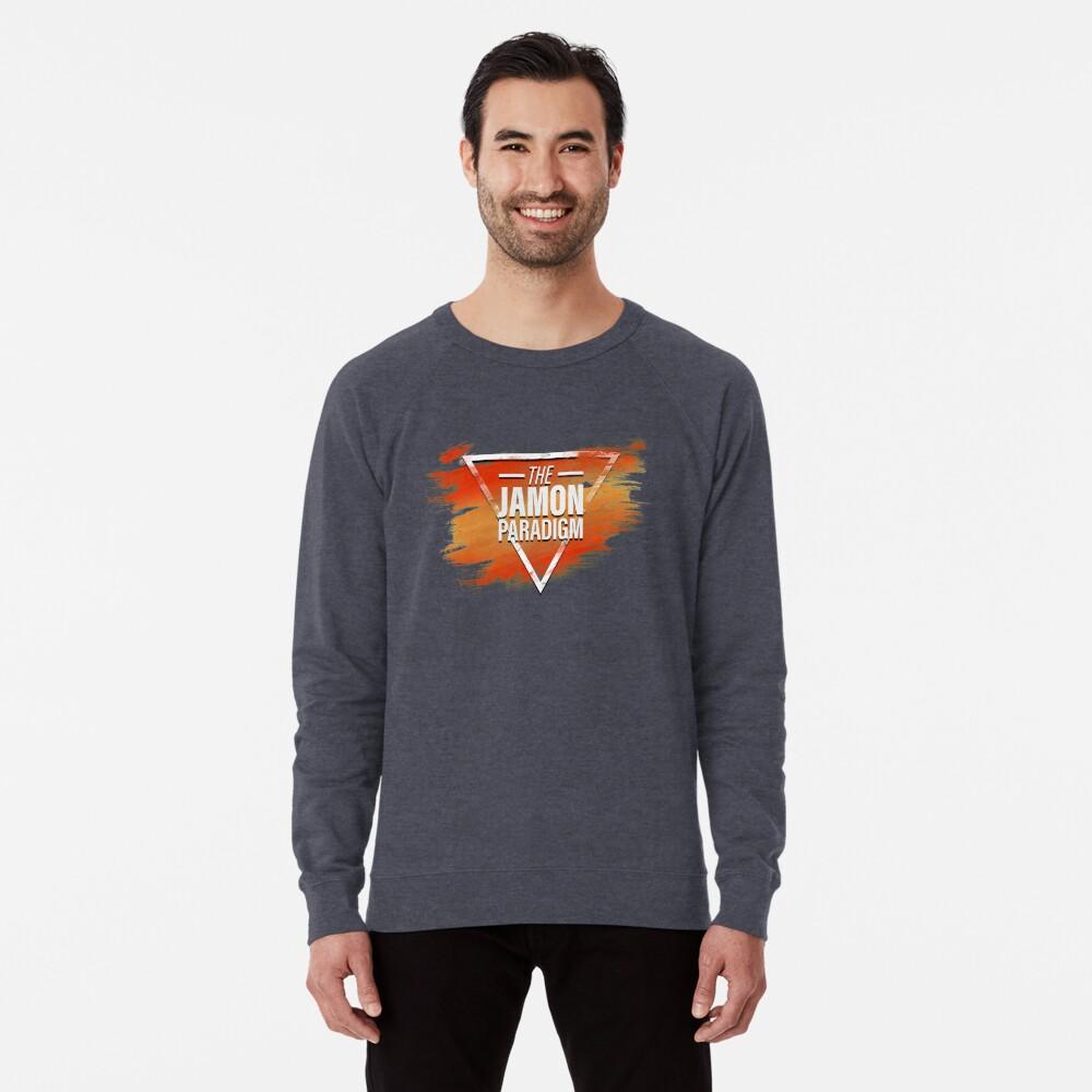 Jamon Paradigm Condensed Logo Lightweight Sweatshirt