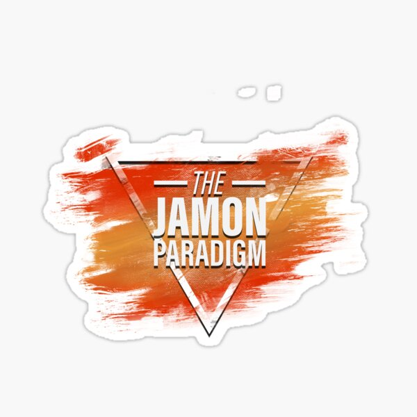 Jamon Paradigm Condensed Logo Sticker