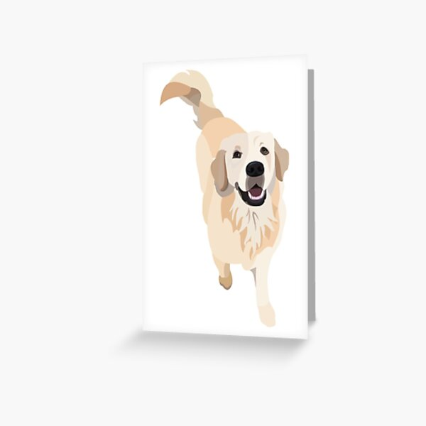 Golden Retriever Doggo Greeting Card