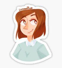 [DW] Clara <3 Sticker