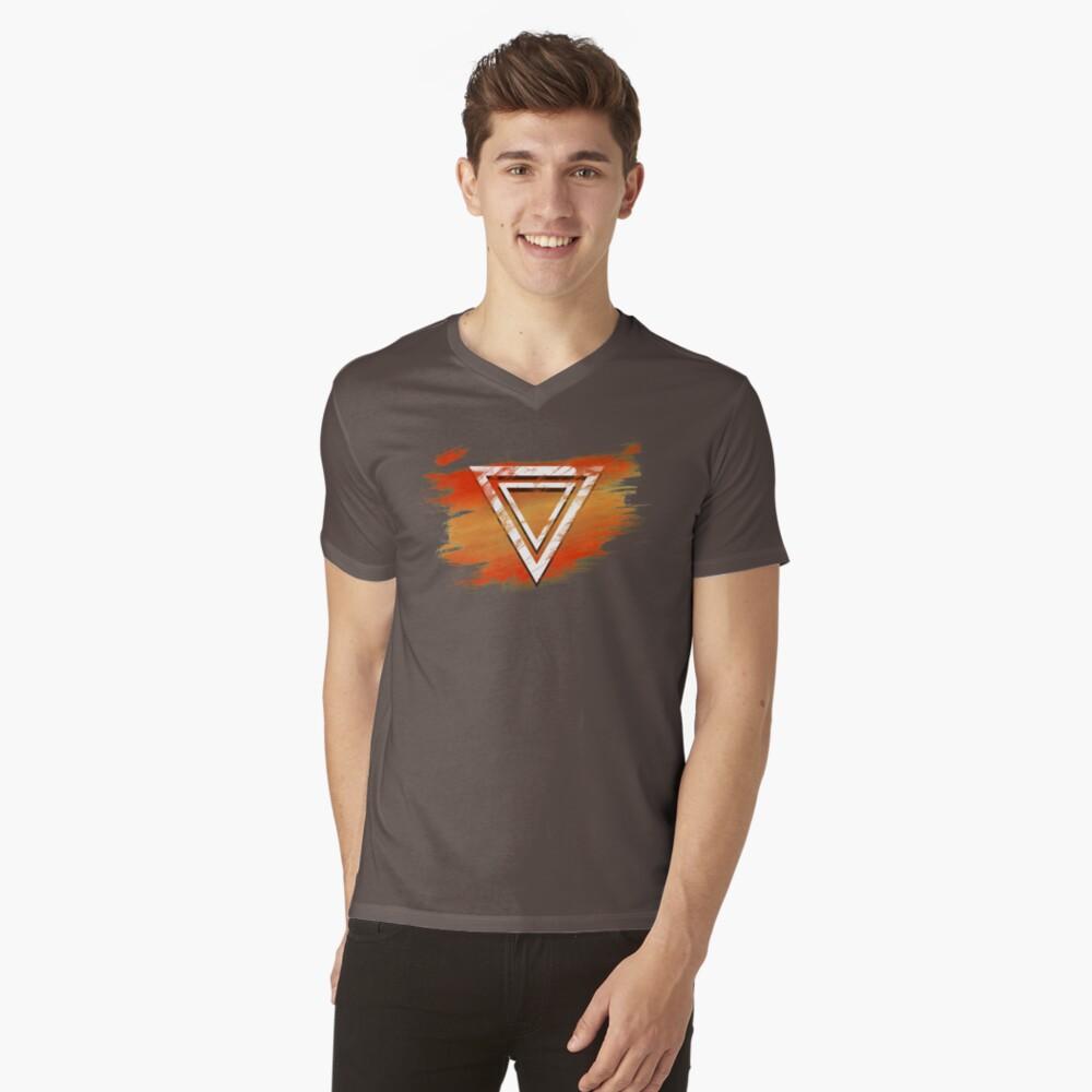 Jamon Paradigm Icon V-Neck T-Shirt