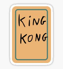 King Kong card from Inglorious Basterds Sticker