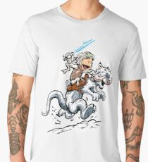 Calvin and Hoth Men's Premium T-Shirt