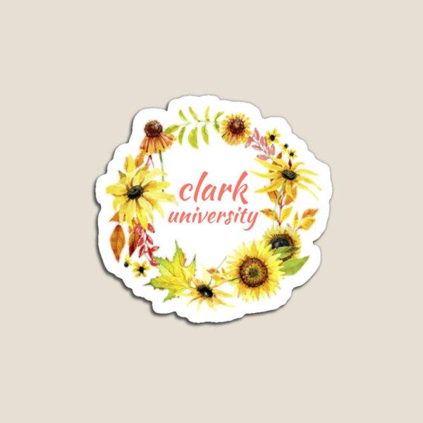 Floral Clark U Magnet