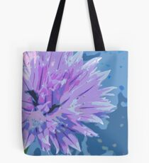 Fower of Chives 2 Tote Bag