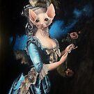 Lady in Blue by alexanderdev