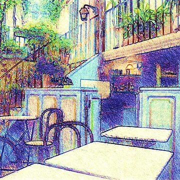 Bar  in Ramatuelle, France by robelf