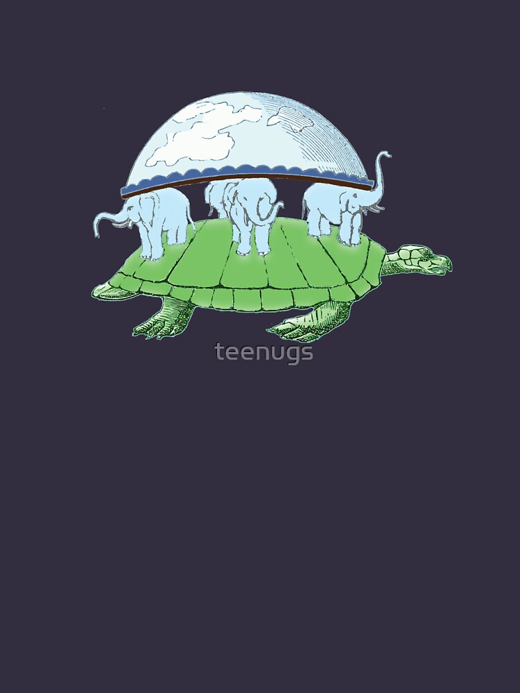 World Turtle Day Of Creation Firmament Flat Earth By Teenugs