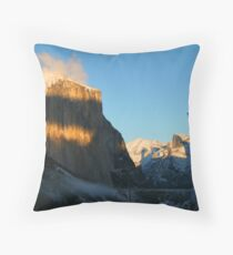 Tunnel View Throw Pillow