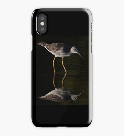 Greater Yellowlegs Reflects iPhone Case/Skin