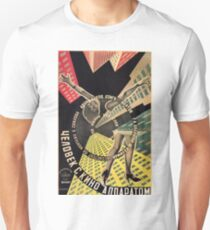 Man with a Movie Camera, vintage movie poster, 1929 T-Shirt