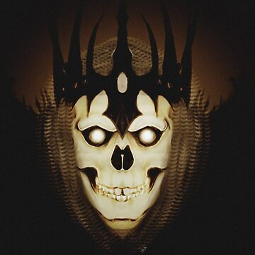Crowned Skull by Kuauh