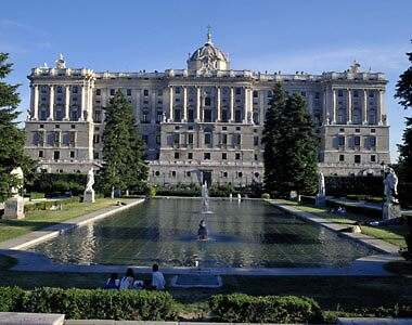 Royal palace, Madrid, Spain by chord0