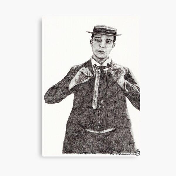 'Buster Keaton' Canvas Print