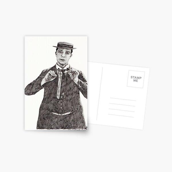 'Buster Keaton' Postcard