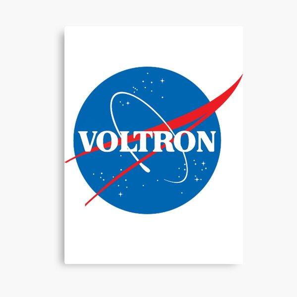 NASA (mais c'est Voltron) Impression sur toile
