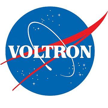 NASA (aber es ist voltron) von HaleyInk