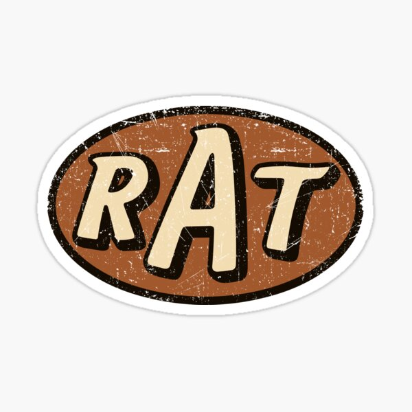 RAT - altéré / en détresse Sticker