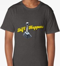 Shift Happens Long T-Shirt