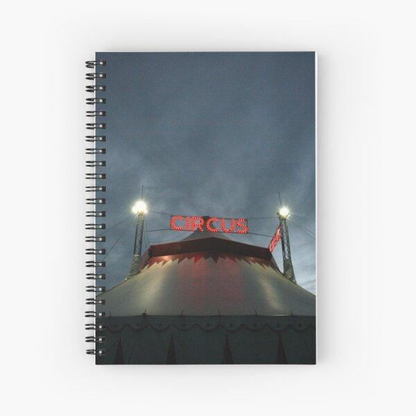 Circus Tent  Spiral Notebook