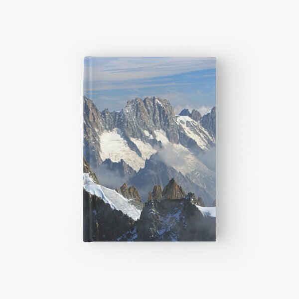 The French Alps at Chamonix Hardcover Journal