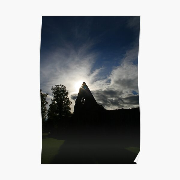 Dryburgh Abbey 4 Poster
