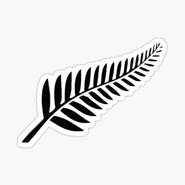 New Zealand Fern Sticker