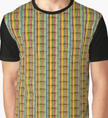 BRIGHT MULTI-COLOR STRIPES  Graphic T-Shirt