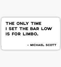 Michael Scott - Limbo Sticker