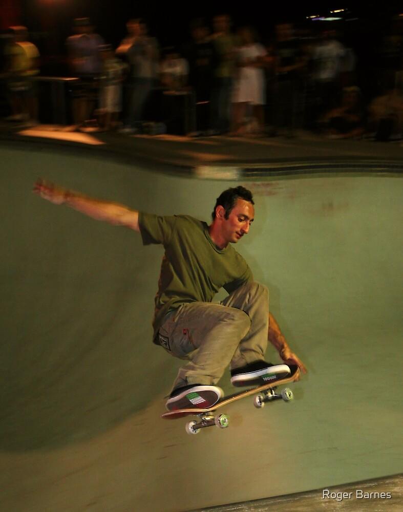 Skateboarder II by Roger Barnes