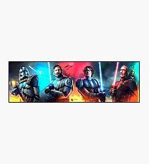 The Clone Wars  Photographic Print