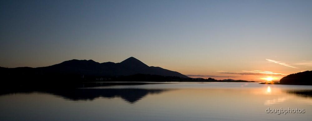 Clew Bay Sunset by Doug Butcher