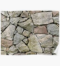 Stone pile Poster
