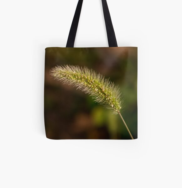 Sunrise Foxtail All Over Print Tote Bag