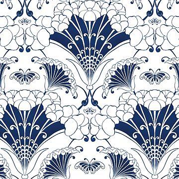 Botanical pattern by NadinS