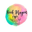 Book Dragon Watercolor by erinbookdragon