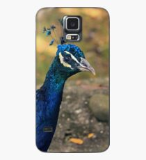 Peacock Strut Case/Skin for Samsung Galaxy