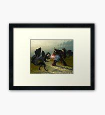 Warriors Of Darkness Framed Print