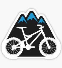 Mountain Biking MTB Sticker Sticker