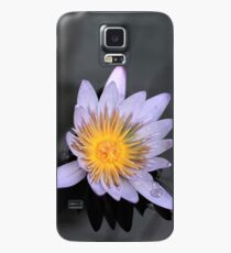Lavender Water Lily Case/Skin for Samsung Galaxy