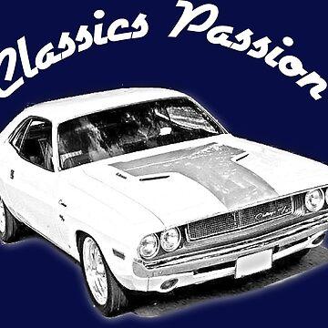 Classics Passion 001 Dodge Challenger Mopar by CPG-Designs